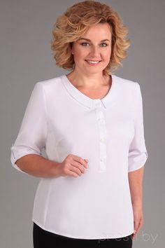 Блузка Асолия 4012 белый