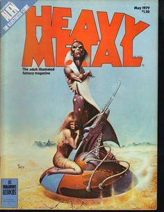 Heavy Metal Magazine May 1979 Alien The by PsychoActiveStudio