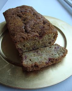 Food for Fridays: Strawberry Rhubarb Loaf #Recipe - Little Miss Kate