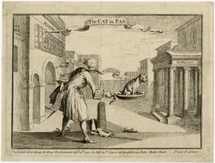 """turning the cat in the pan -- a much later example I happened across recently in BM Dept Prints & Drawings -- just go onto the BM website and search for """"cat in the pan"""""""