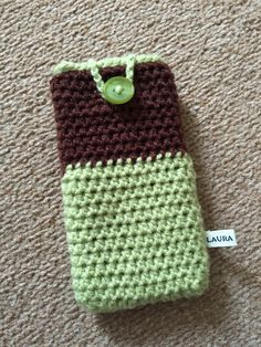 Crochet iPhone 6 case for Laura