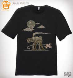 Star Wars and Steampunk.  Weeellll...if you insist!