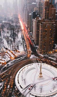 Columbus Circle, New York City, U.S   by SamAlive