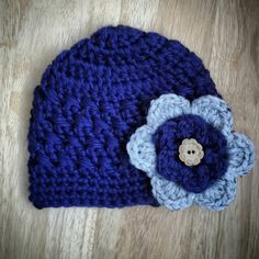 Beautiful Warm Winter Hat for Girls Warm Winter by TwoCrazyNCrafty