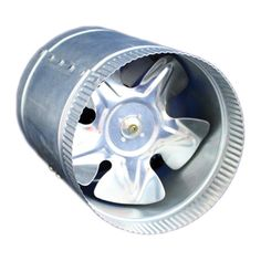 """The 6"""" Booster Inline Duct Fan by Gro1 pumps out 250 CFM of power yet is super quiet. Gro1 is well known for making easy-to-use, easy-to-install products, and the Booster In-Line Duct Fan is no except"""