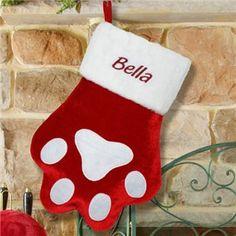 Pet Christmas Stocking