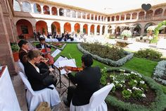 SAY I DO in Peru - Beautiful historic cloistered courtyard in a restored monastery of the XVI century. The venue is located in Cusco's charming city centre, only few blocks from the main square and 10-minutes drive from Cusco International Airport. Perfect venue for your wedding in Peru. Discover more on www.sayidoinperu.com and follow us on Facebook: https://www.facebook.com/sayidoinperu?ref=hl