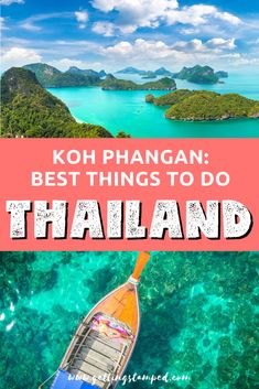 So much more than a Full Moon Party, From diving and hiking to boating excursions and immersing in Thai culture. Here are top things to do in Koh Phangan! Thailand Travel Guide, Croatia Travel, Thailand Nightlife, Nightlife Travel, Bangkok Thailand, Hawaii Travel, Asia Travel, Italy Travel, Beach Travel
