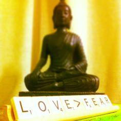 Love is greater than fear. #rayoga #RaYoga.com