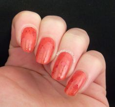 Squeaky Nails: Swatches - Superficially Colorful Lacquer: Don't Leave Me This Way http://www.squeakynails.com/2015/02/swatches-superficially-colorful-lacquer.html