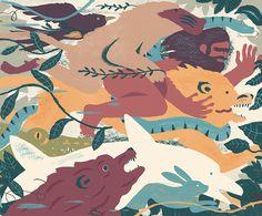 Chris Silas Neal: animal kingdom on Behance