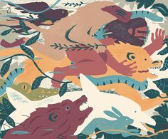 Chris Silas Neal: animal kingdom on Behance