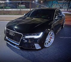 I want it black paint, black rims, black leather and black two way mirror tint