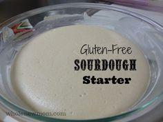 Gluten-free Sourdough Starter - Super Easy! Start making your own truly healthy sourdough bread - sans gluten--sans yeast and YUMMY!