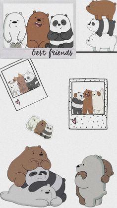 Cute Panda Wallpaper, Bear Wallpaper, Cute Patterns Wallpaper, Cute Disney Wallpaper, Kawaii Wallpaper, Cute Wallpaper Backgrounds, We Bare Bears Wallpapers, Panda Wallpapers, Cute Cartoon Wallpapers