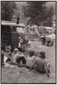 Fuck You Bus. 1970, Powder Ridge Festival, Connecticut