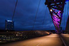 { the acrobat pedestrian bridge }