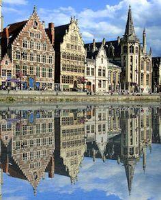 Ghent - my favorite city in Belgium