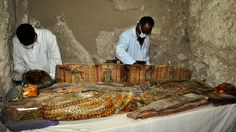 A 3,500-year-old tomb with several mummies, sarcophagi and statues .was found in the Draa Abul Nagaa necropolis..17