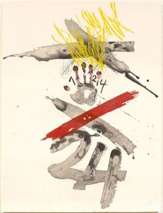 Antoni Tàpies, Untitled, 1972