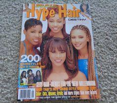 Hype Hair Magazine January 2000 Black Hair Magazine, Kim Hair, Hype Hair, Hair Trends, Sexy, Cover, January, Hairstyles, Google Search