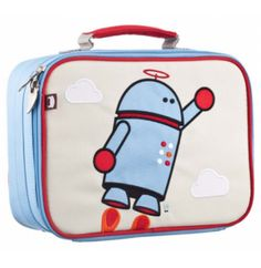 A friendly way to bring lunch with you thanks to Alexander Robot Lunchbox from Beatrix NY. This insulated lunch box is a playful way to Lunchbox Kids, Kids Lunch Bags, Kids Bags, Lunch Ideas, Kid Lunches, Box Robot, Cute Lunch Boxes, Backpacking Hammock, Kid Essentials