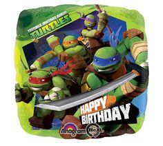 burton + BURTON has Teenage Mutant Ninja Turtles balloons to go with a themed Birthday Party! #burtonandburton #TMNT