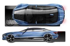 O design de U: VW Ayoreo Design Concept para uma alternativa mais acessível para o Tesla Model S