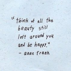 anne frank ...a beauty in the desert of life