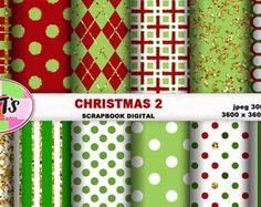 KIT FUNDO DIGITAL CHRISTMAS 2