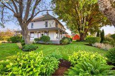 Farmhouse Love — Ready to make some wine? We are all about this... Restored Farmhouse, Farmhouse Homes, Built In Refrigerator, Grass Seed, Outdoor Seating Areas, French Doors, Vineyard, Restoration, Willamette Valley