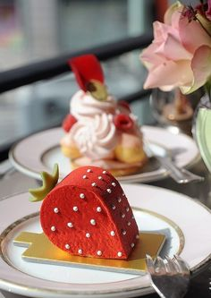 Laduree Fraise - I have actually had one of these and it was AMAZING!!!