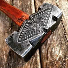Handmade by a 25-year-old master craftsman, these axes, knives, and hammers are remarkably functional artwork.