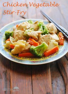chicken vegetables stir fry