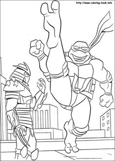 Are you searching for Teenage Mutant Ninja Turtles coloring pages for your little ones? Now you can explore your kid with these 25 free printable coloring pages! Free Coloring Sheets, Online Coloring Pages, Cartoon Coloring Pages, Free Printable Coloring Pages, Coloring Book Pages, Coloring Pages For Kids, Kids Coloring, Ninja Turtles 1, Ninja Turtle Party