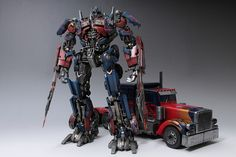 Optimus Prime&The toy vehicle mode(Repainting) | Flickr - Photo Sharing!