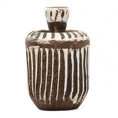 JEAN BESNARD Earthenware bottle : Lot 702