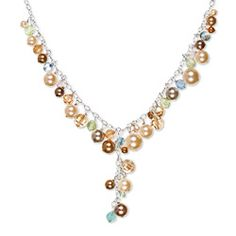 The Rural Romantic: Jewelry Knock-off: Holly Yashi Greta Necklace