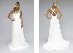 Robes de mariée chic rock / Wedding dresses chick rock > Modèle Cléa  Source: Lookbook 2013 | Rime Arodaky