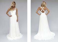Robes de mariée chic rock / Wedding dresses chick rock > Modèle Cléa  Source: Lookbook 2013 | Rime Arodaky
