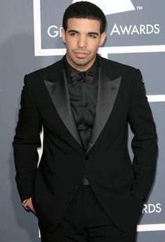 all black tux w/ black bow tie [or should the bow tie be white]