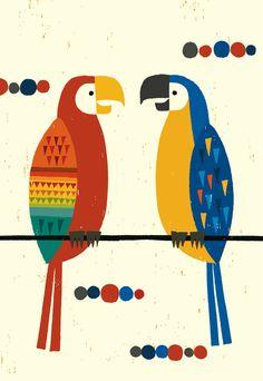 Tomoko Suzuki - Parrots
