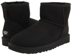 UGG Classic Mini (Black) - Footwear on shopstyle.com aedccdc4d83c