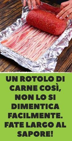 A roll of meat like that, you can't easily forget it .-Un rotolo di carne cos. A roll of meat like that, you can't easily forget it .-Un rotolo di carne così, non lo si dimentica facilmente visu Meat Recipes, Gourmet Recipes, Appetizer Recipes, Chicken Recipes, Cooking Recipes, Beef Skillet Recipe, Braciole Recipe, Easy Casserole Dishes, Fish And Meat