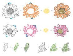 altenew spring daisy - Google leit