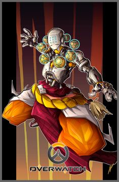 ArtStation - Zenyatta - Overwatch, William Puekker