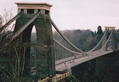 The Clifton Suspension Bridge, Bristol Pictures Of Bridges, Rock Anthems, Pretty Sky, Suspension Bridge, Republic Of Ireland, Building Structure, Home And Away, Historical Sites, Brooklyn Bridge