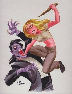 Buffy the Vampire Slayer by Bruce Timm