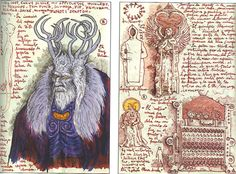 Guillermo del Toros' sketchbook