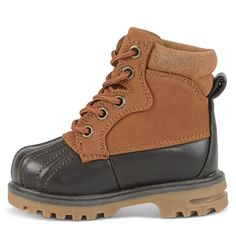 Lugz Kids' Mallard Duck Boot Toddler/Preschool Shoes (Rust/Dark Brown/